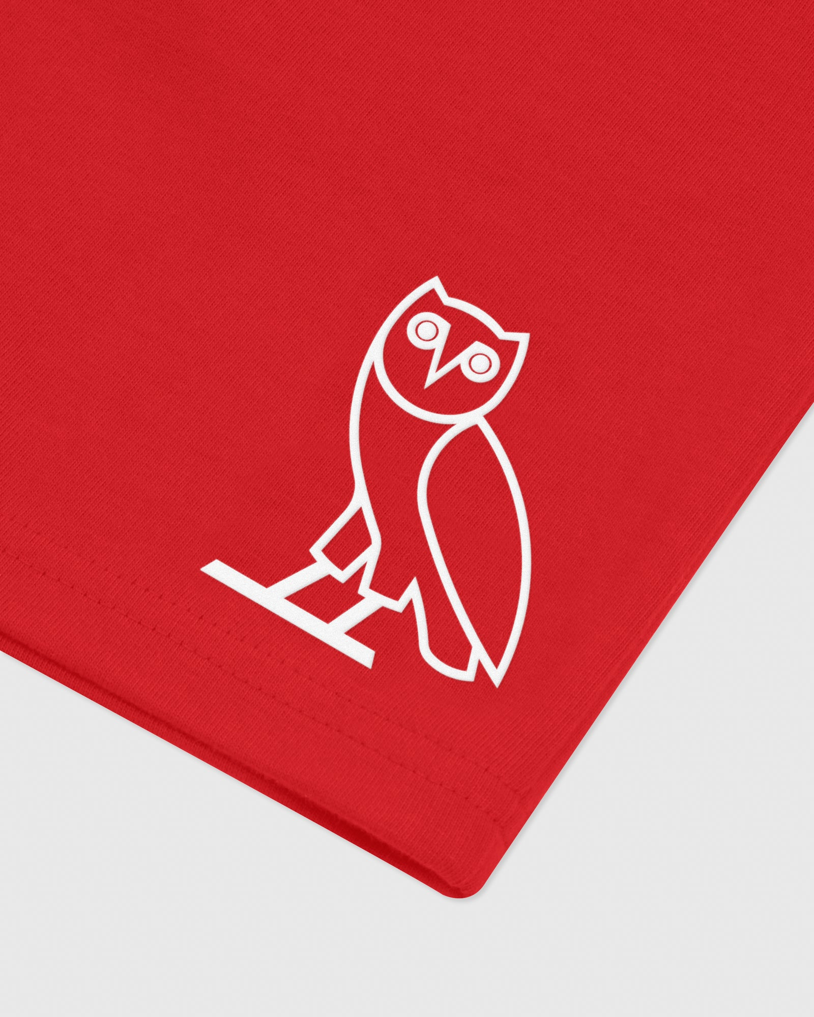 OVO RUNNER HEAVYWEIGHT JERSEY SHORT - RED IMAGE #3