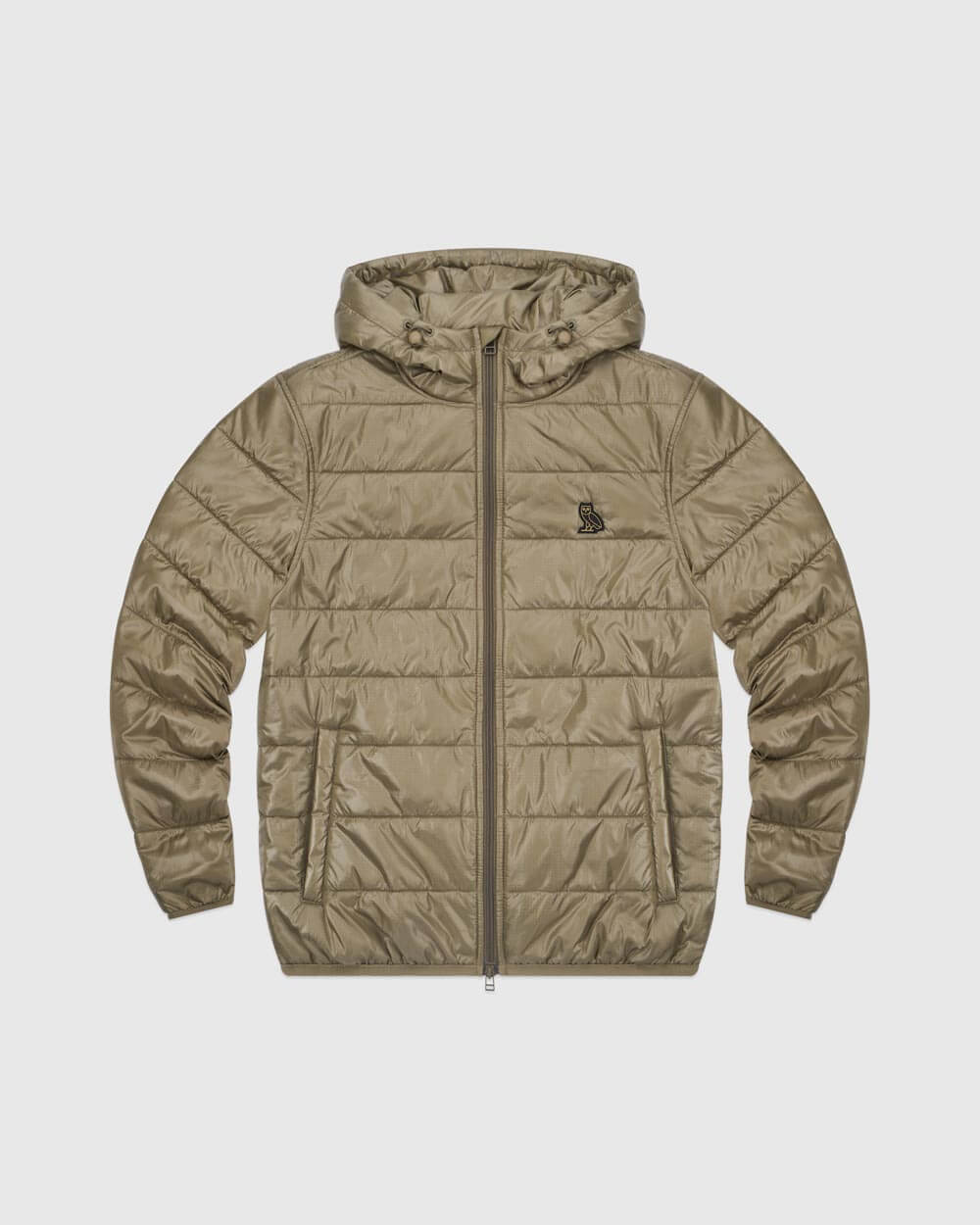 OVO HOODED LIGHTWEIGHT JACKET - ALPHA GREEN
