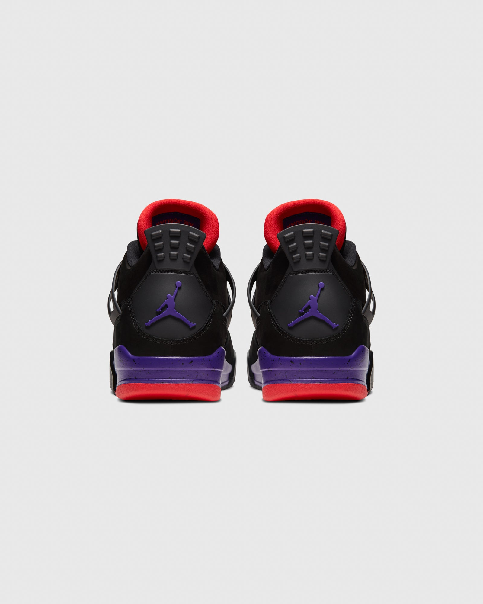 AIR JORDAN IV - BLACK/COURT PURPLE IMAGE #5