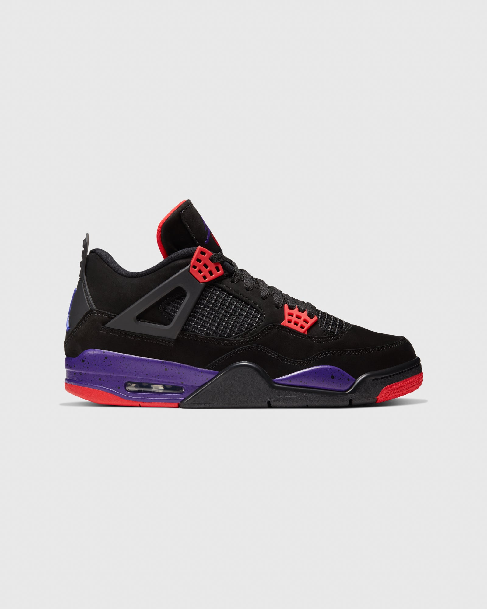 AIR JORDAN IV - BLACK/COURT PURPLE IMAGE #1