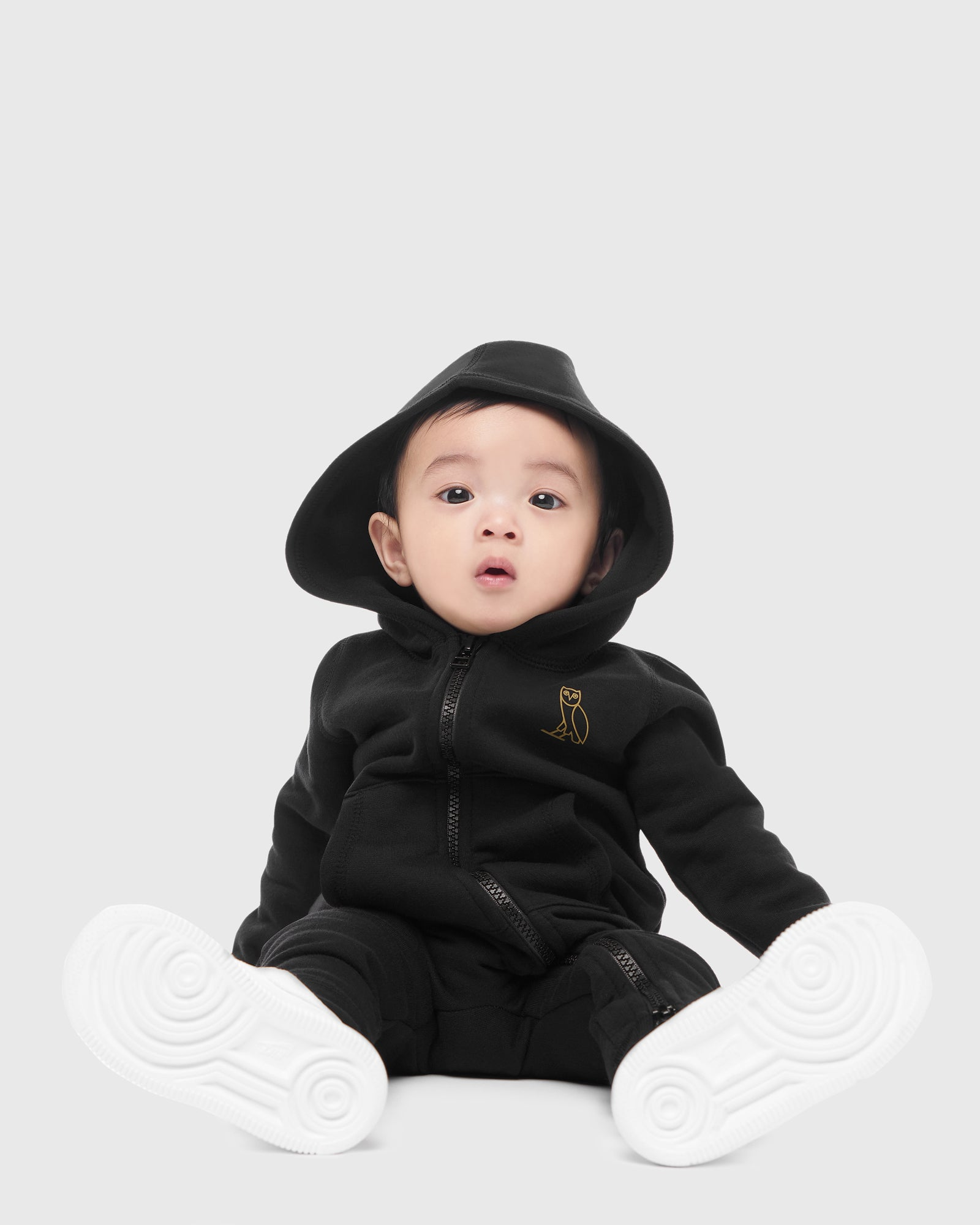 OVO KIDS ROMPER - PURPLE IMAGE #2