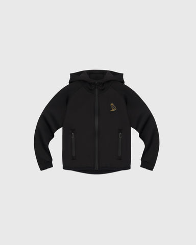 KIDS INTERLOCK JACKET - BLACK