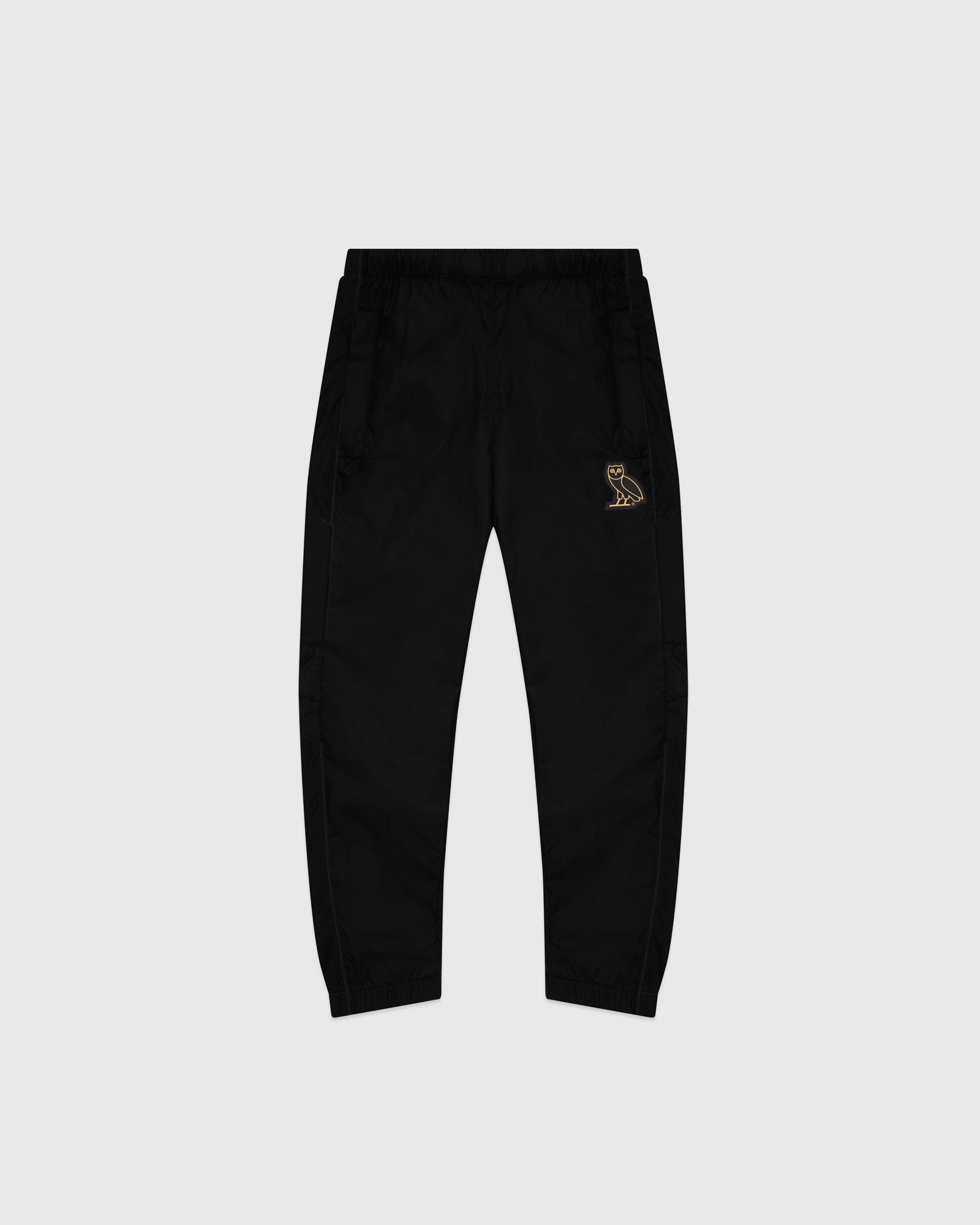 KIDS COLOUR BLOCK NYLON PANT - BLACK IMAGE #1