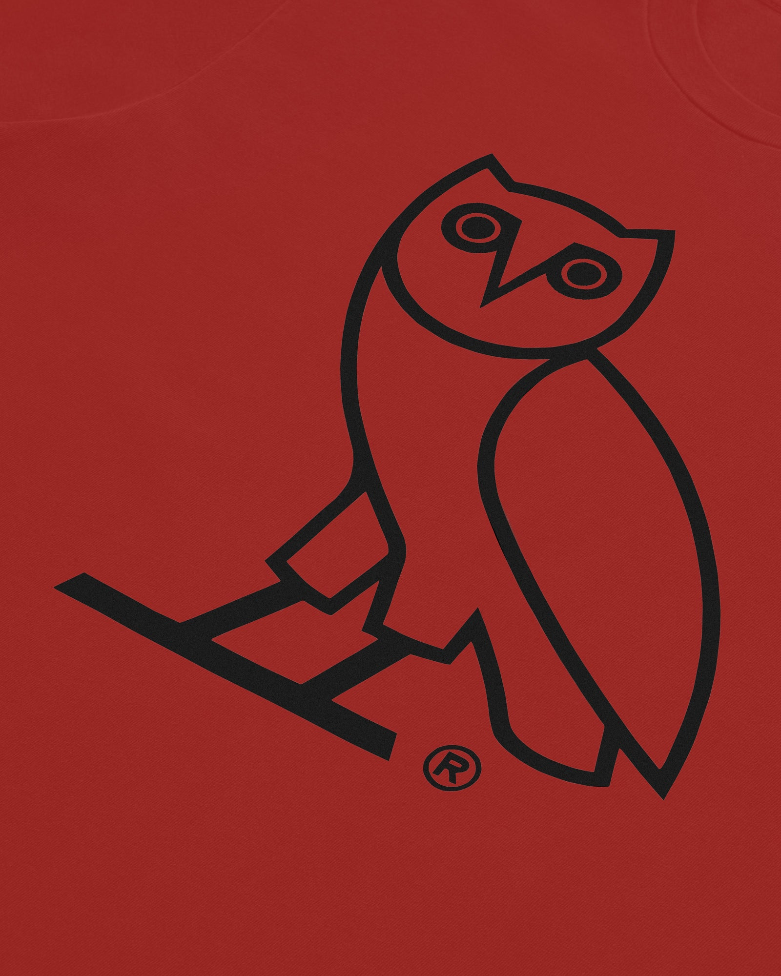 KIDS OG OWL T-SHIRT - RED IMAGE #3