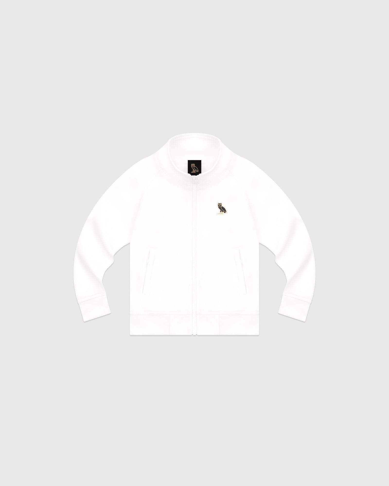 KIDS PIQUE JACKET - WHITE IMAGE #1