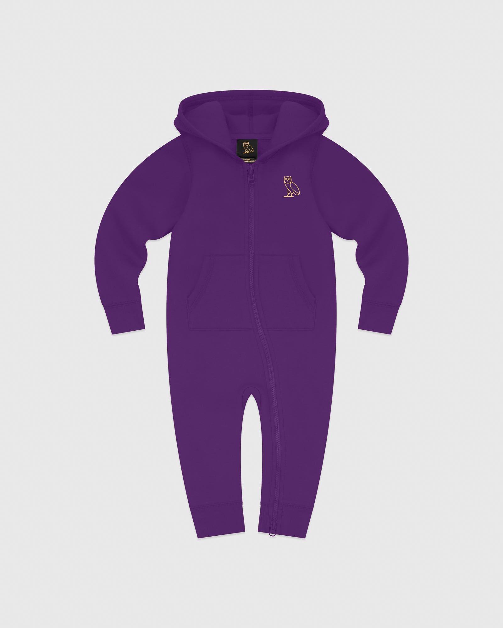 OVO KIDS ROMPER - PURPLE IMAGE #1