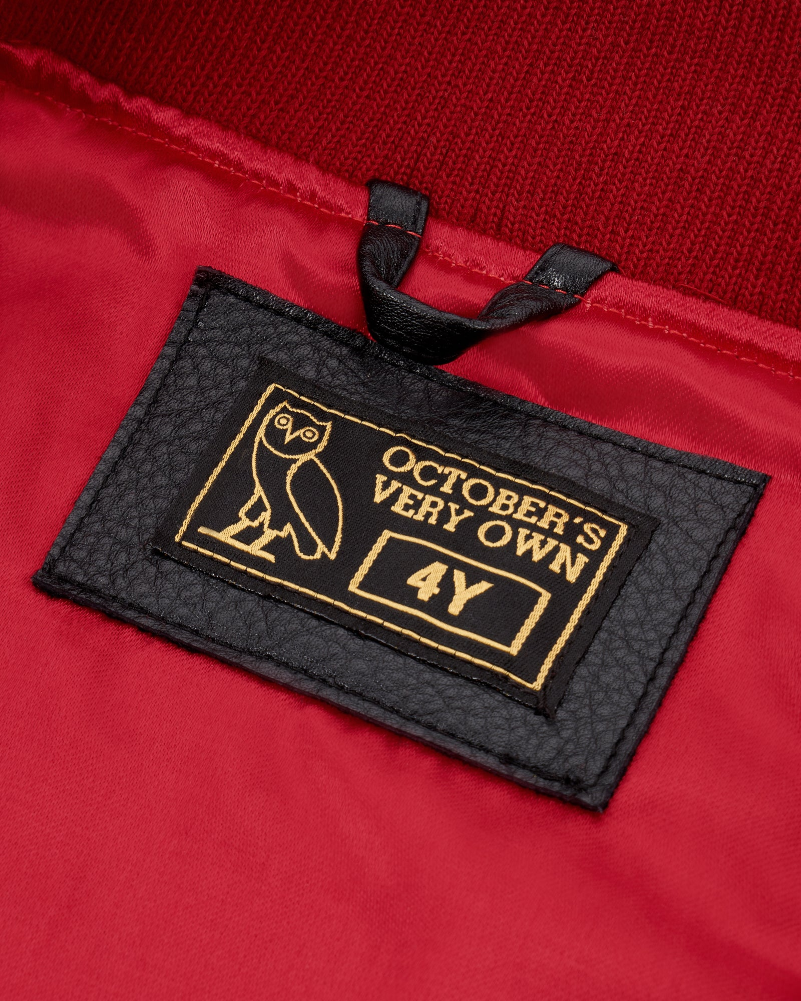 OVO KIDS TEAM JACKET - RED