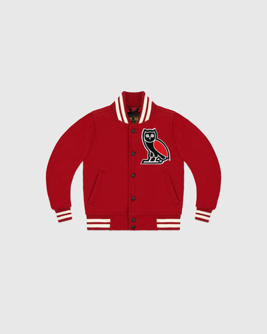 KIDS TEAM JACKET - RED