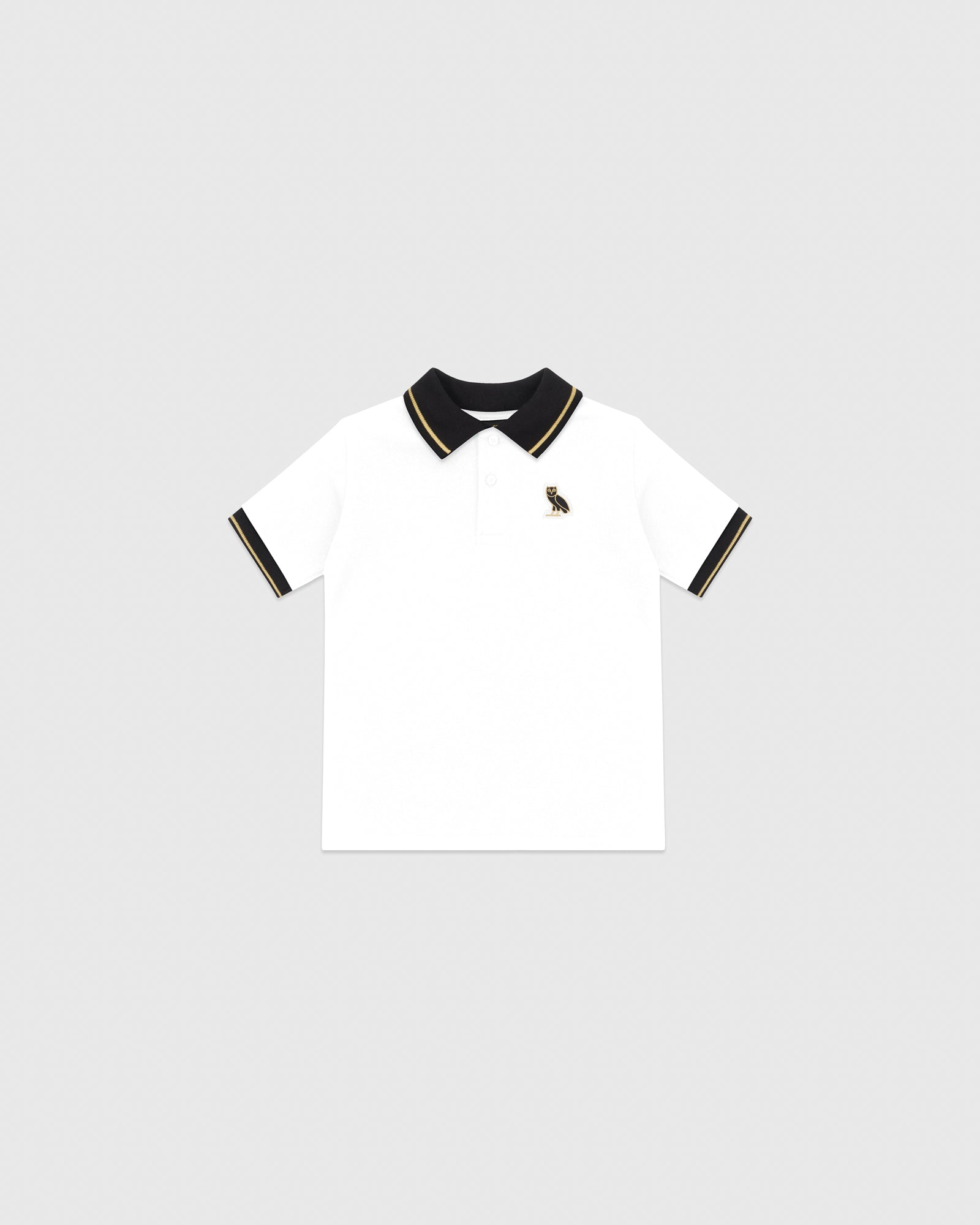 KIDS POLO - WHITE IMAGE #1