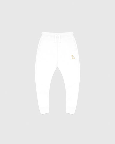 KIDS SWEATPANT - WHITE