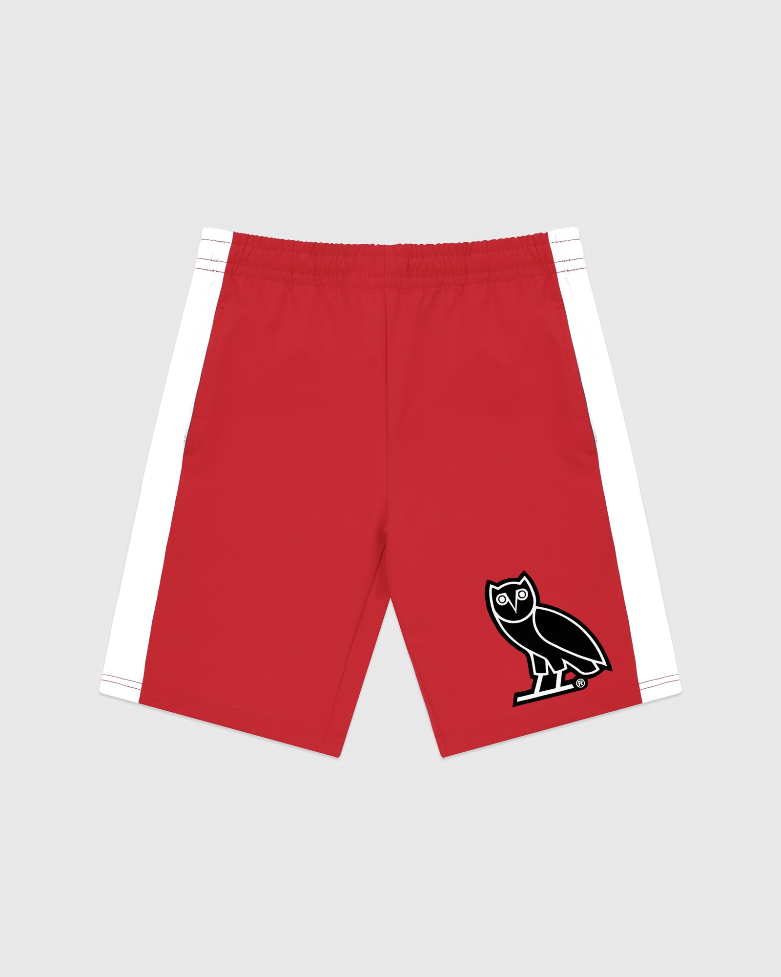 OVO LIGHTWEIGHT SHELL SHORT - RED IMAGE #1
