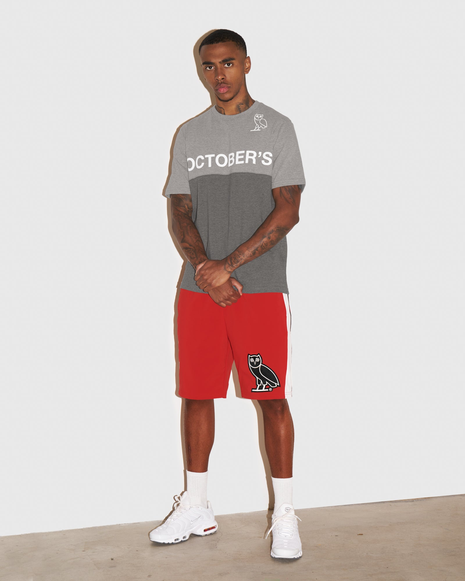 OVO LIGHTWEIGHT SHELL SHORT - RED IMAGE #2