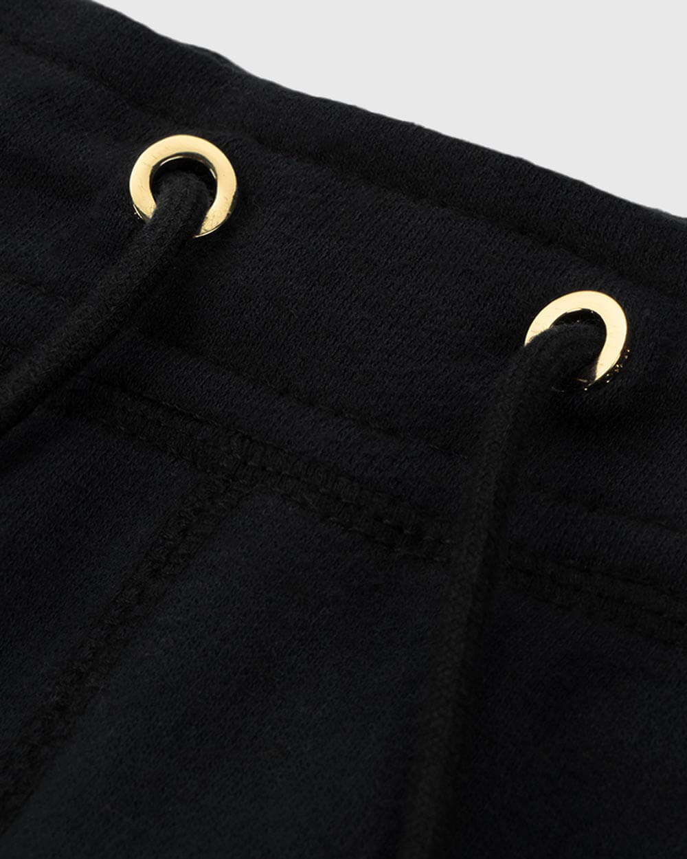 MID-WEIGHT FRENCH TERRY SWEATPANT - BLACK
