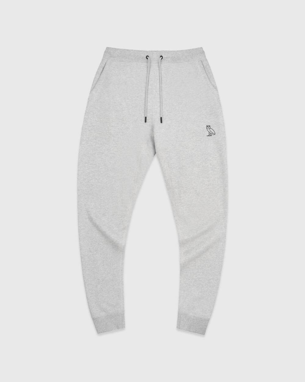 OVO ESSENTIALS SWEATPANT - HEATHER GREY IMAGE #1