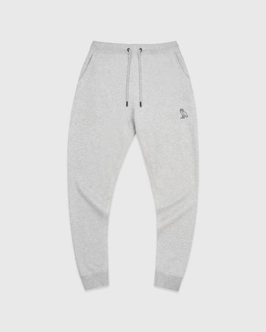 OVO ESSENTIALS SWEATPANT - HEATHER GREY