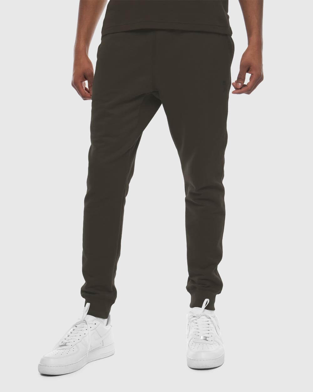 MID-WEIGHT FRENCH TERRY SWEATPANT - STONE GREEN