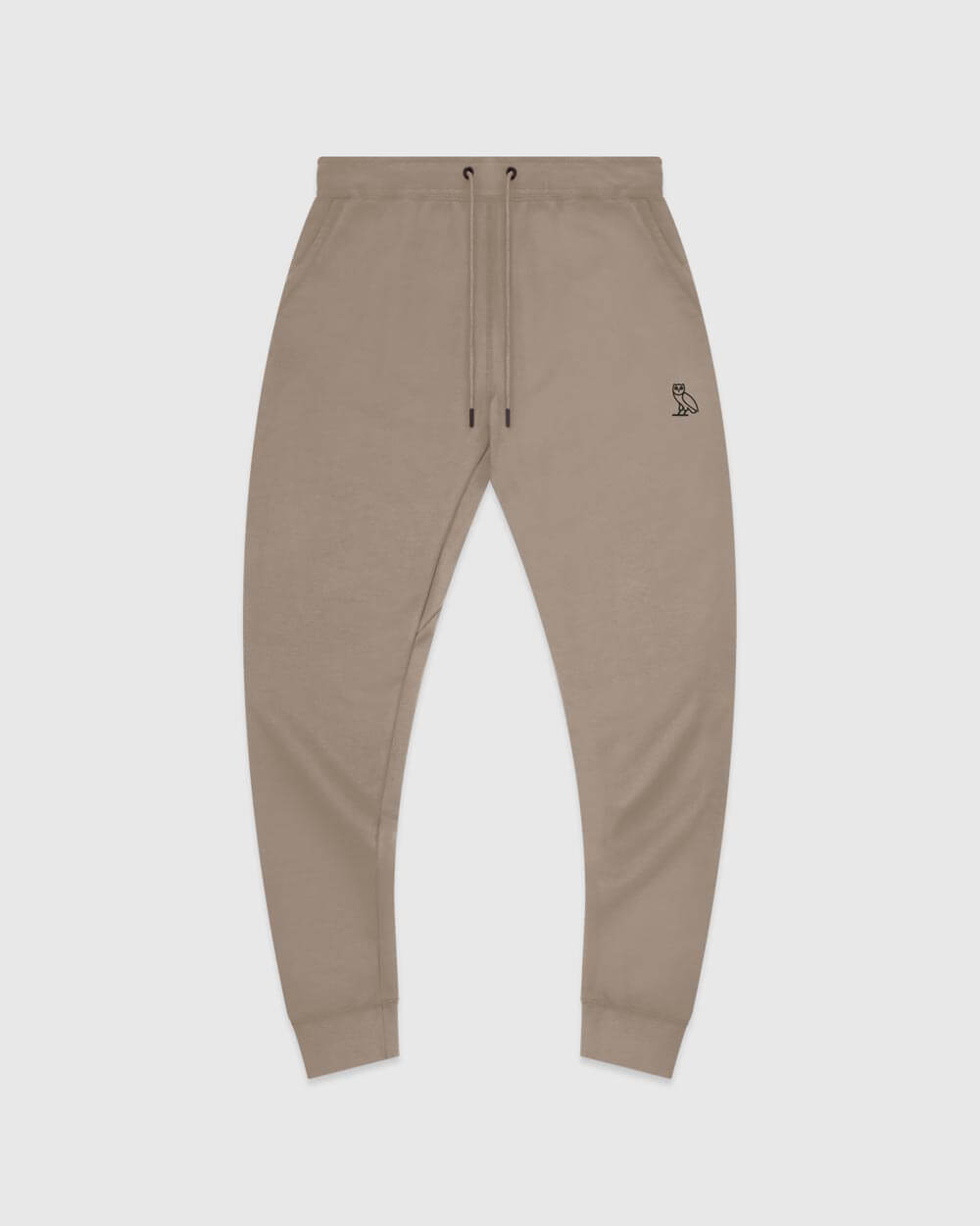 MID-WEIGHT FRENCH TERRY SWEATPANT -  WARM GREY