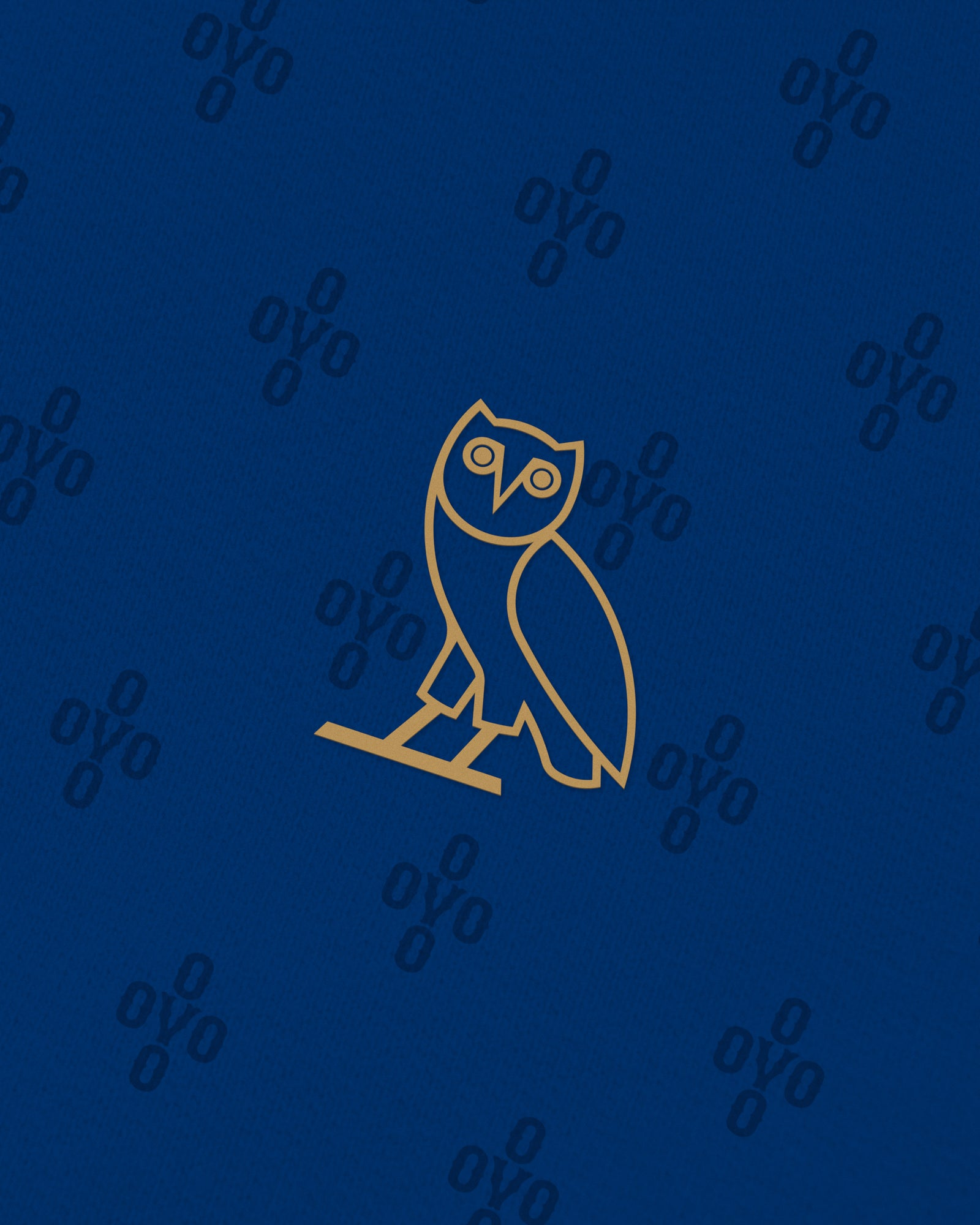 OVO MONOGRAM T-SHIRT - ELECTRIC BLUE IMAGE #3