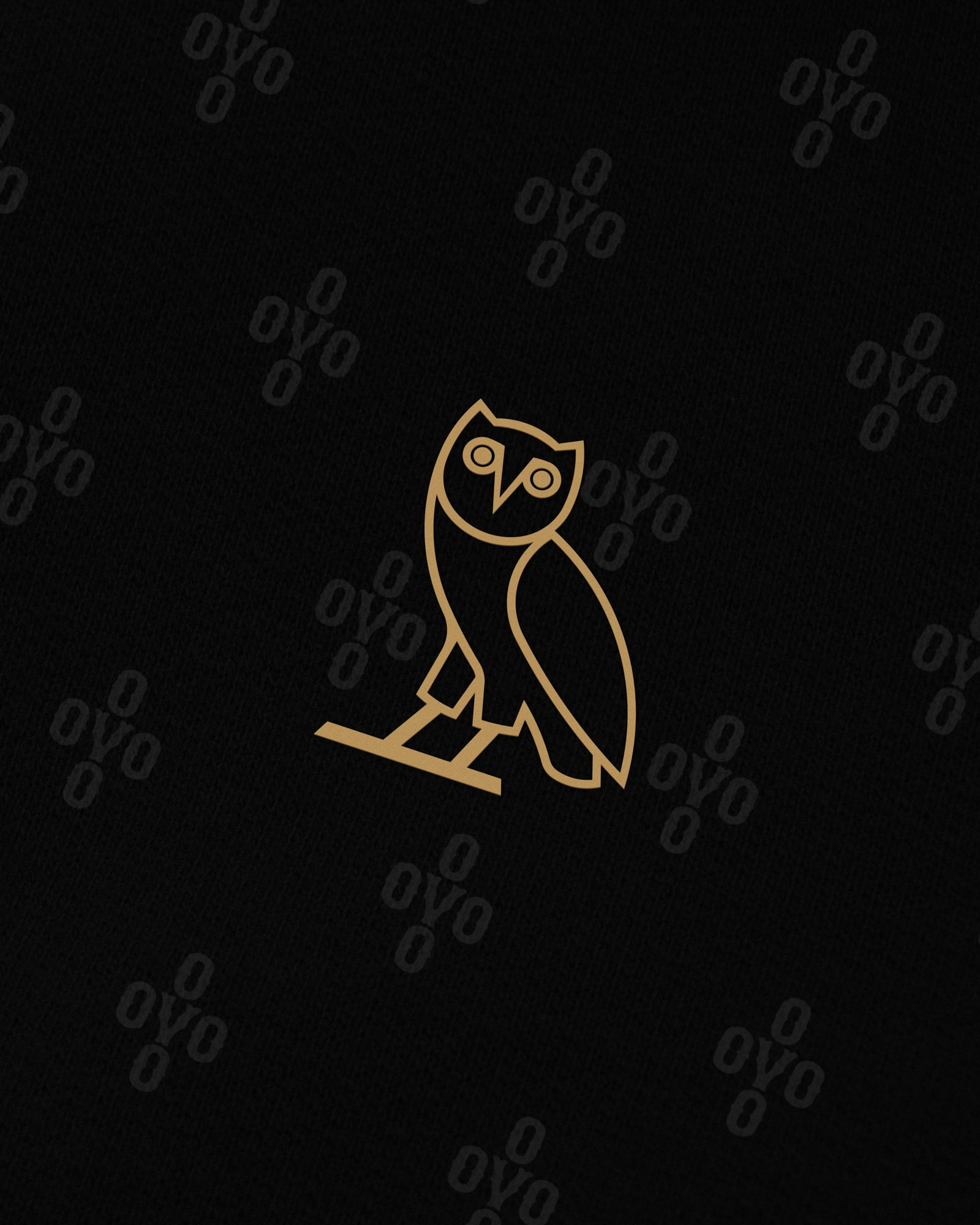 OVO MONOGRAM SWEATPANT - BLACK IMAGE #3