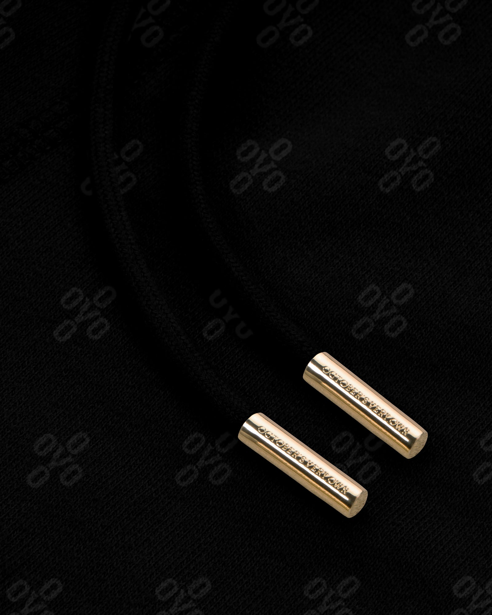 OVO MONOGRAM SWEATPANT - BLACK