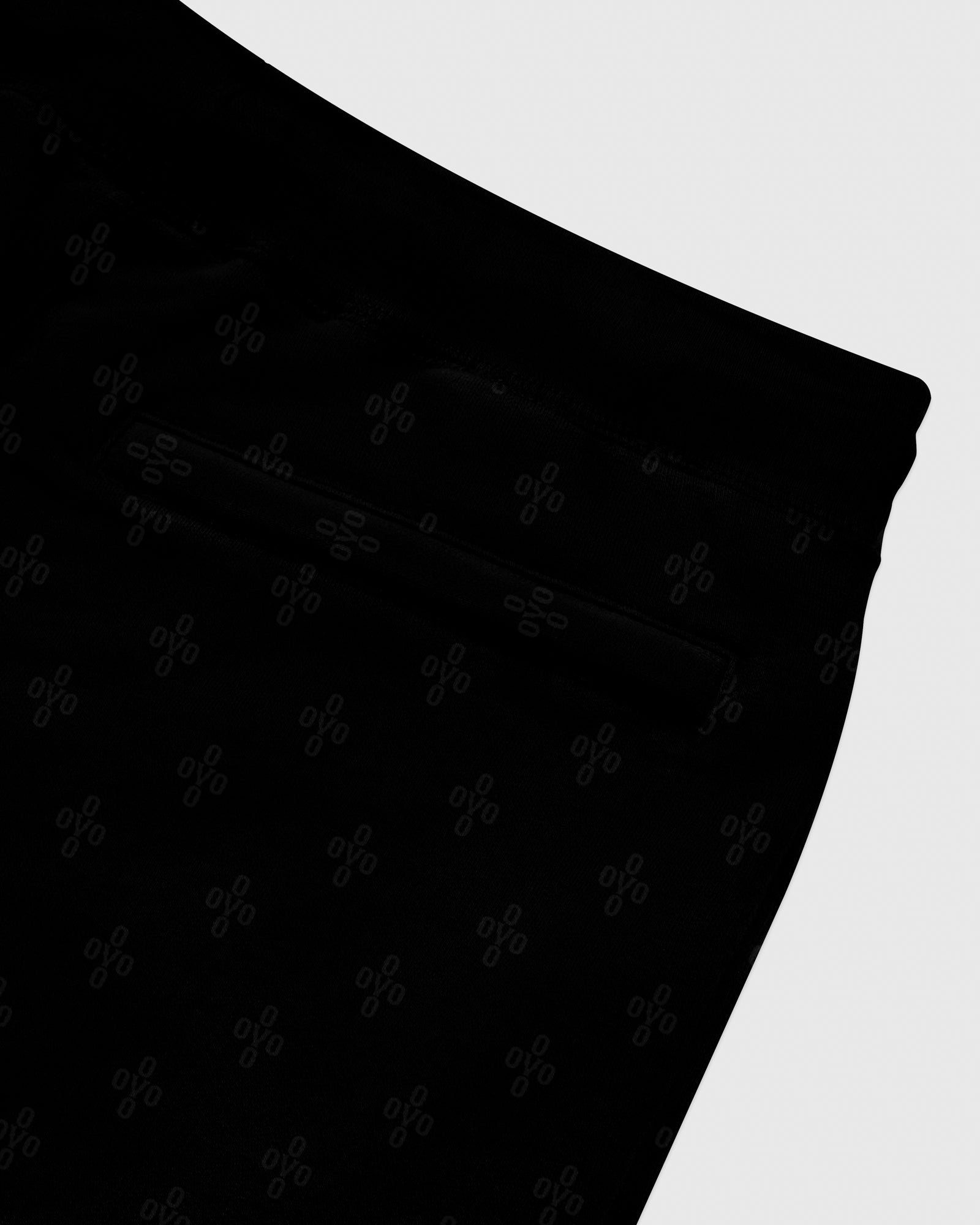OVO MONOGRAM SWEATPANT - BLACK IMAGE #6