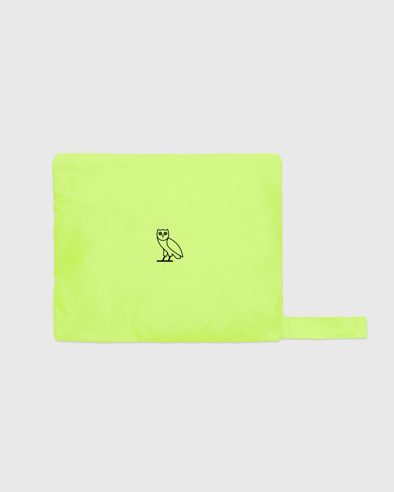 OVO NYLON PACKABLE JACKET - NEON GREEN IMAGE #5