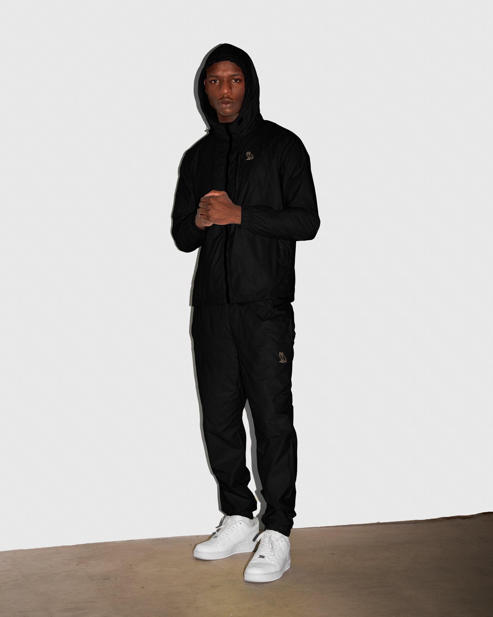 OVO NYLON PACKABLE PANT - BLACK IMAGE #2