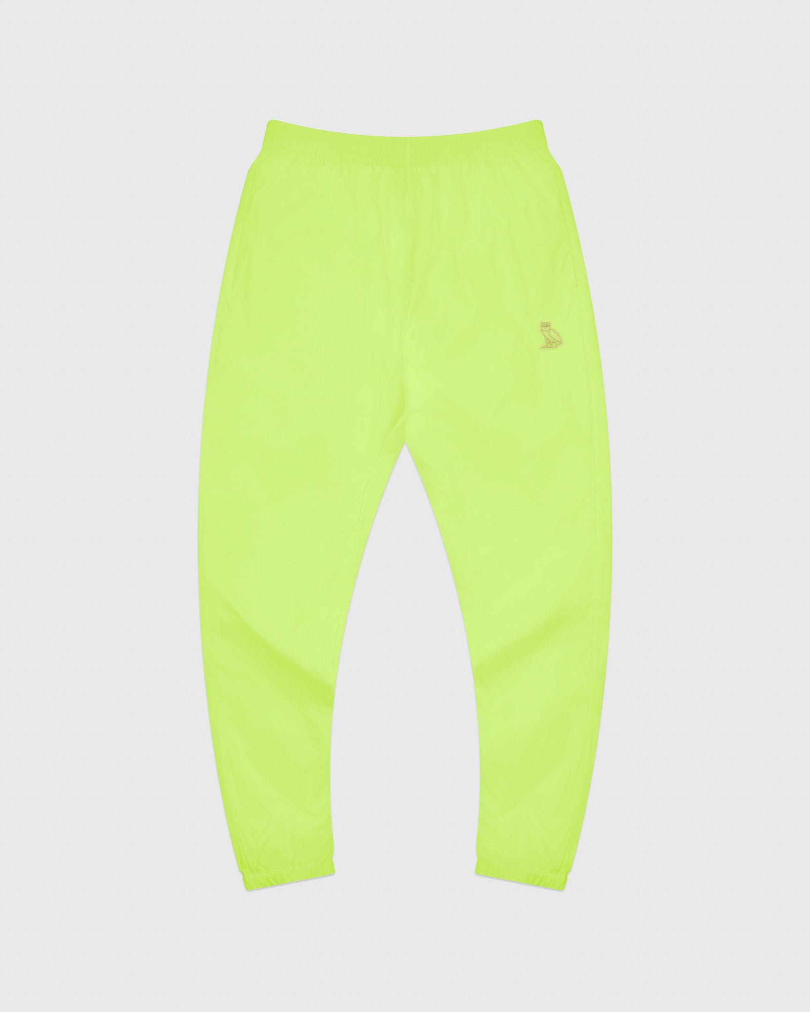 OVO NYLON PACKABLE PANT - NEON GREEN IMAGE #1