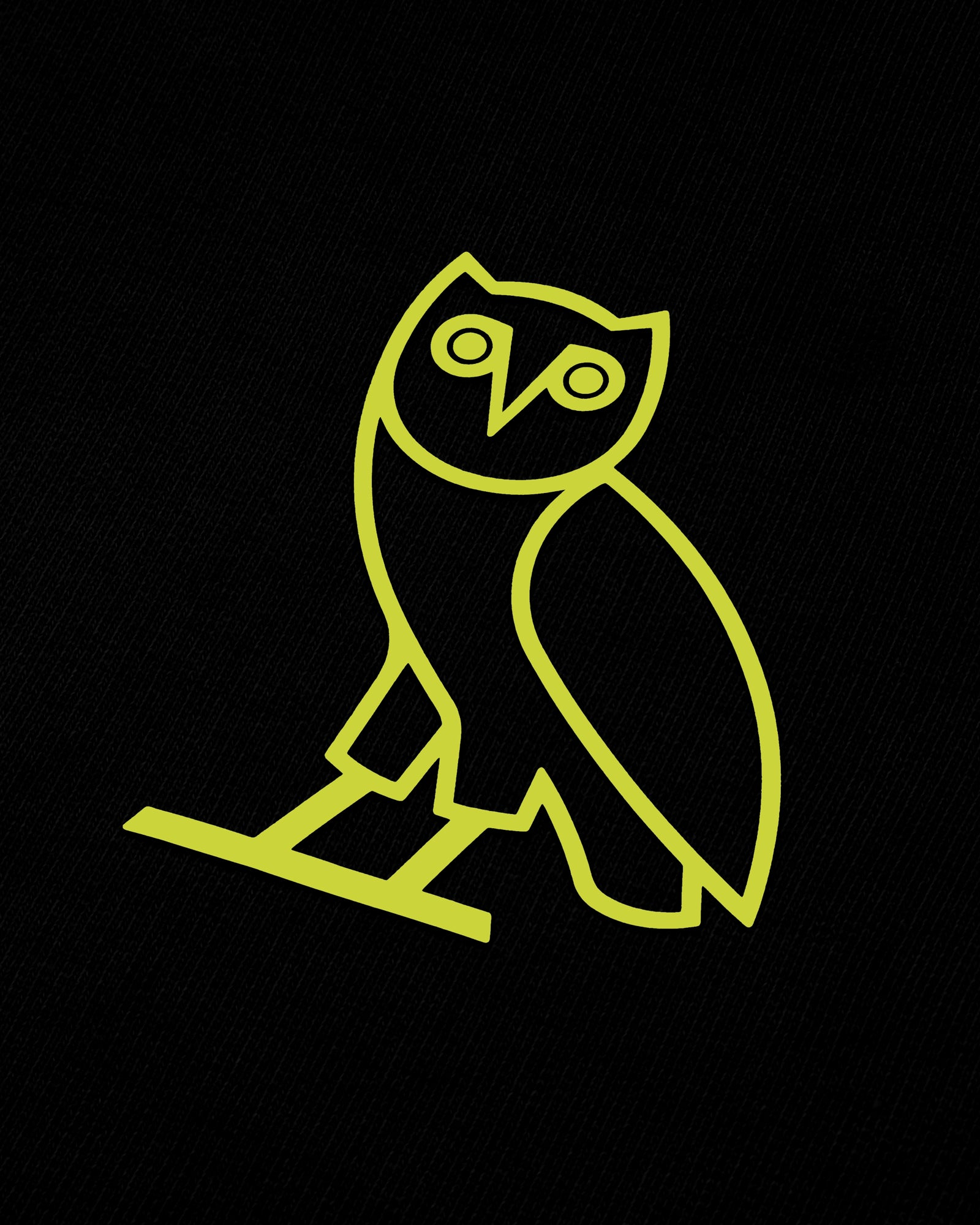 OVO FRENCH TERRY HOODIE - BLACK IMAGE #3