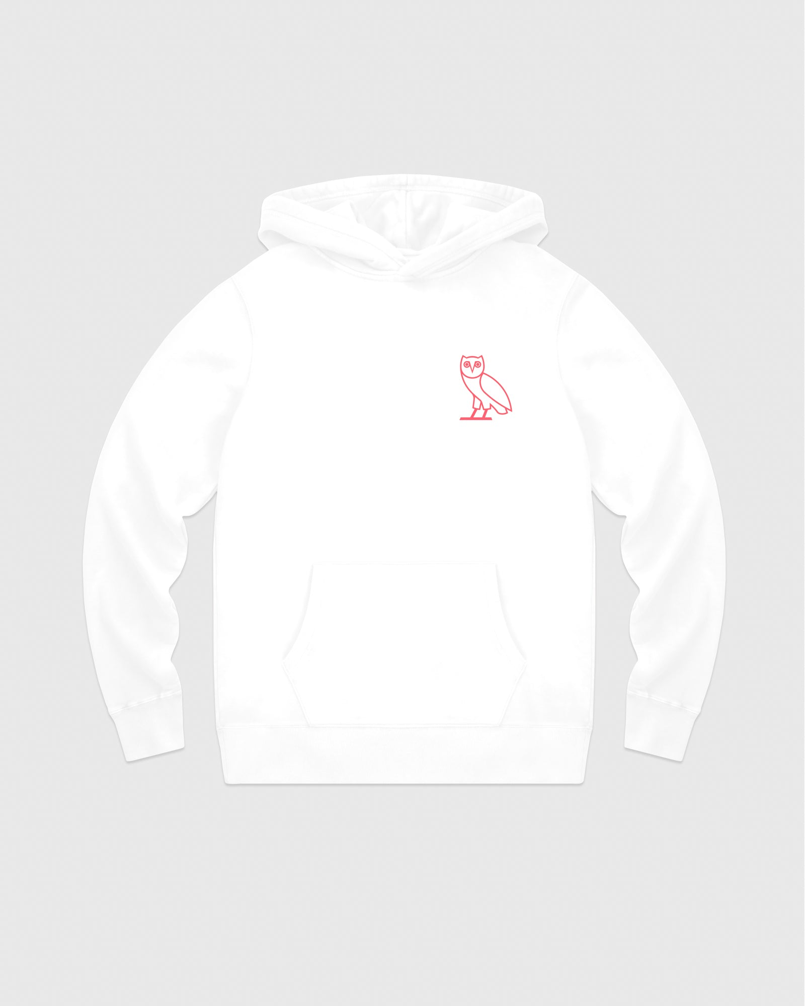 OVO FRENCH TERRY HOODIE - WHITE IMAGE #1