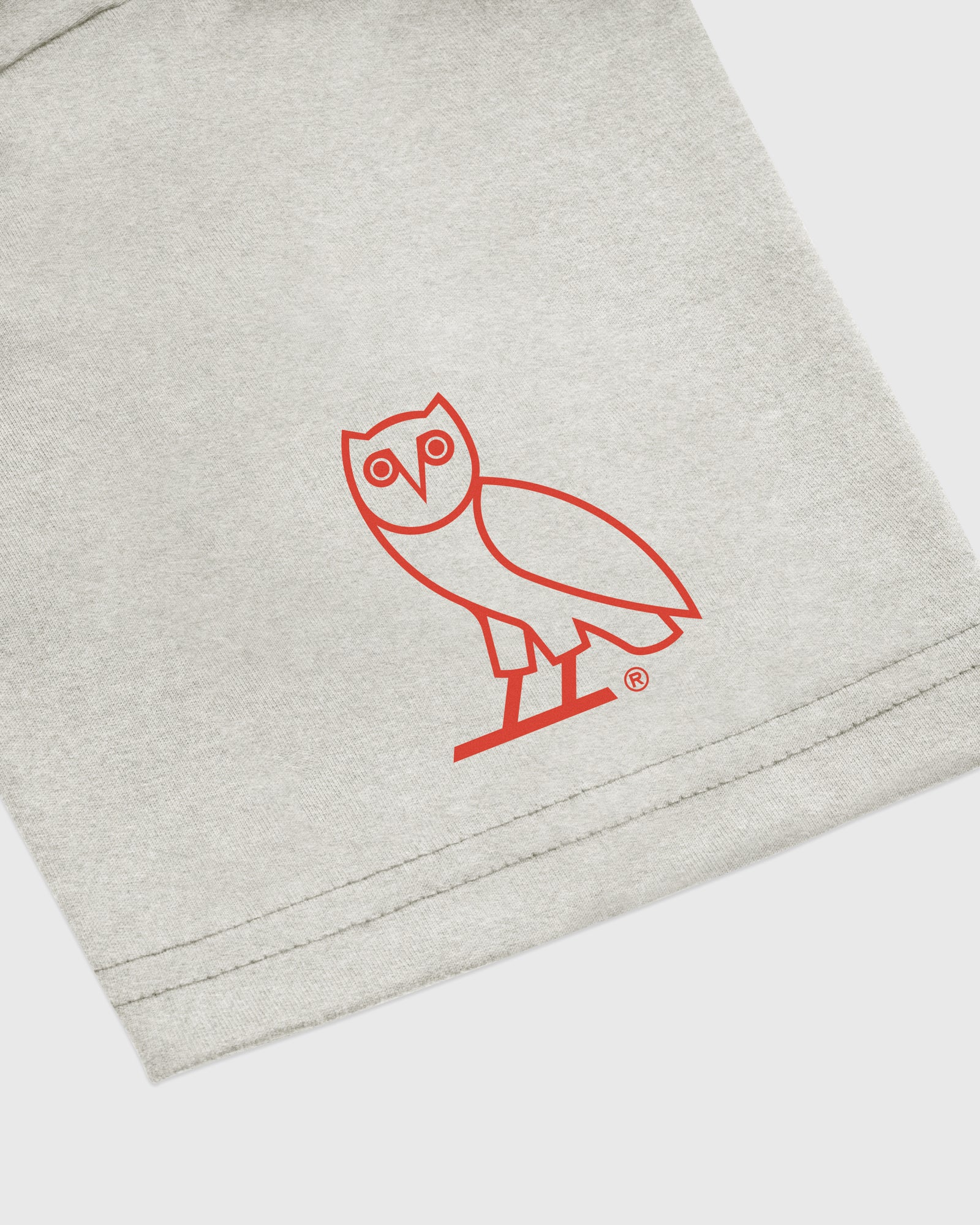 OVO NORTH NORTH T-SHIRT - HEATHER GREY IMAGE #3