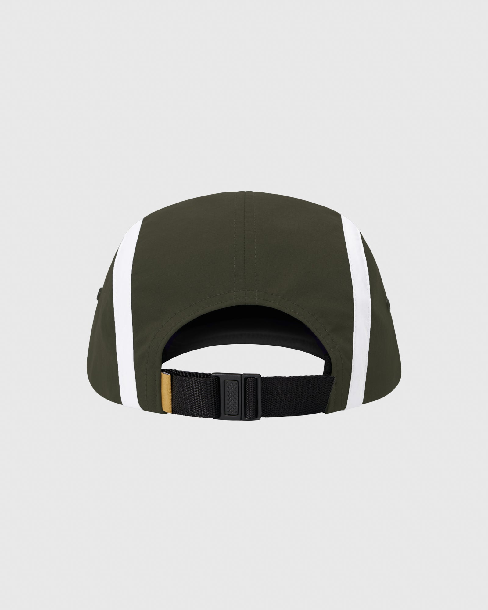 OVO MICRO RIPSTOP NYLON 4 PANEL CAP - MILITARY GREEN IMAGE #4