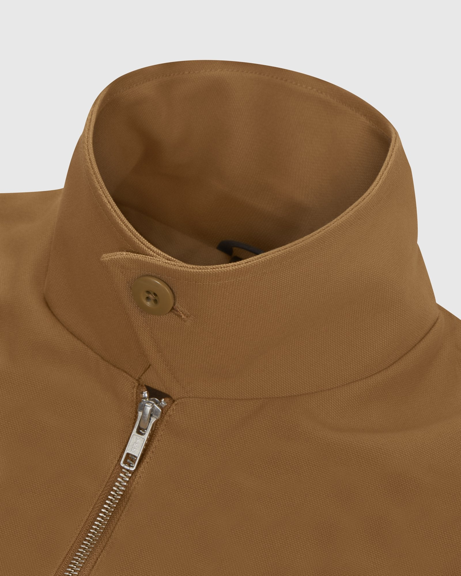 OCTOBER CANVAS JACKET - BROWN IMAGE #5
