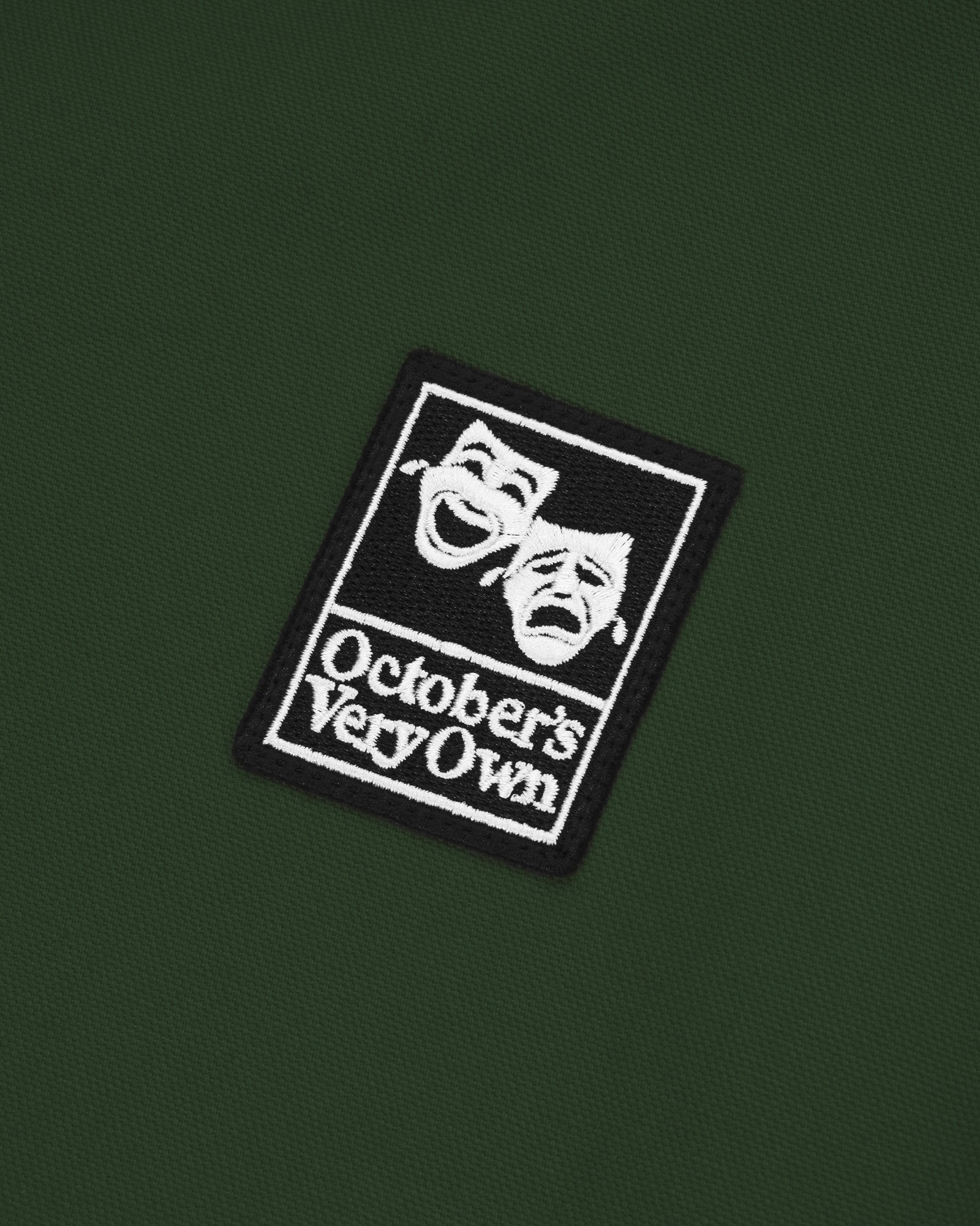 OCTOBER CANVAS JACKET - DARK GREEN IMAGE #3