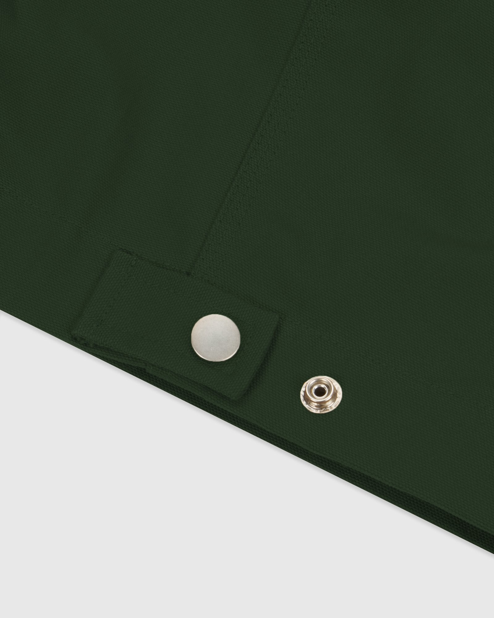 OCTOBER CANVAS JACKET - DARK GREEN IMAGE #6