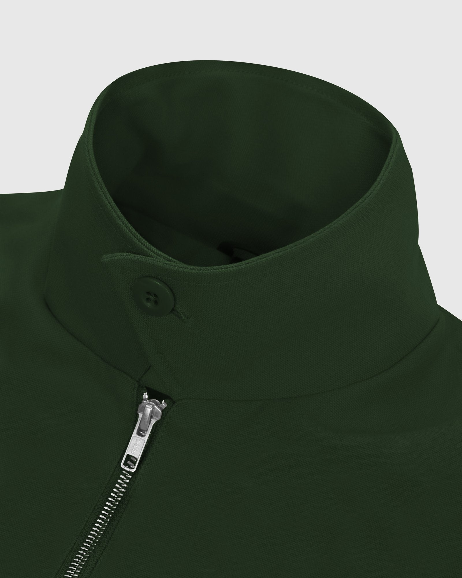 OCTOBER CANVAS JACKET - DARK GREEN IMAGE #5