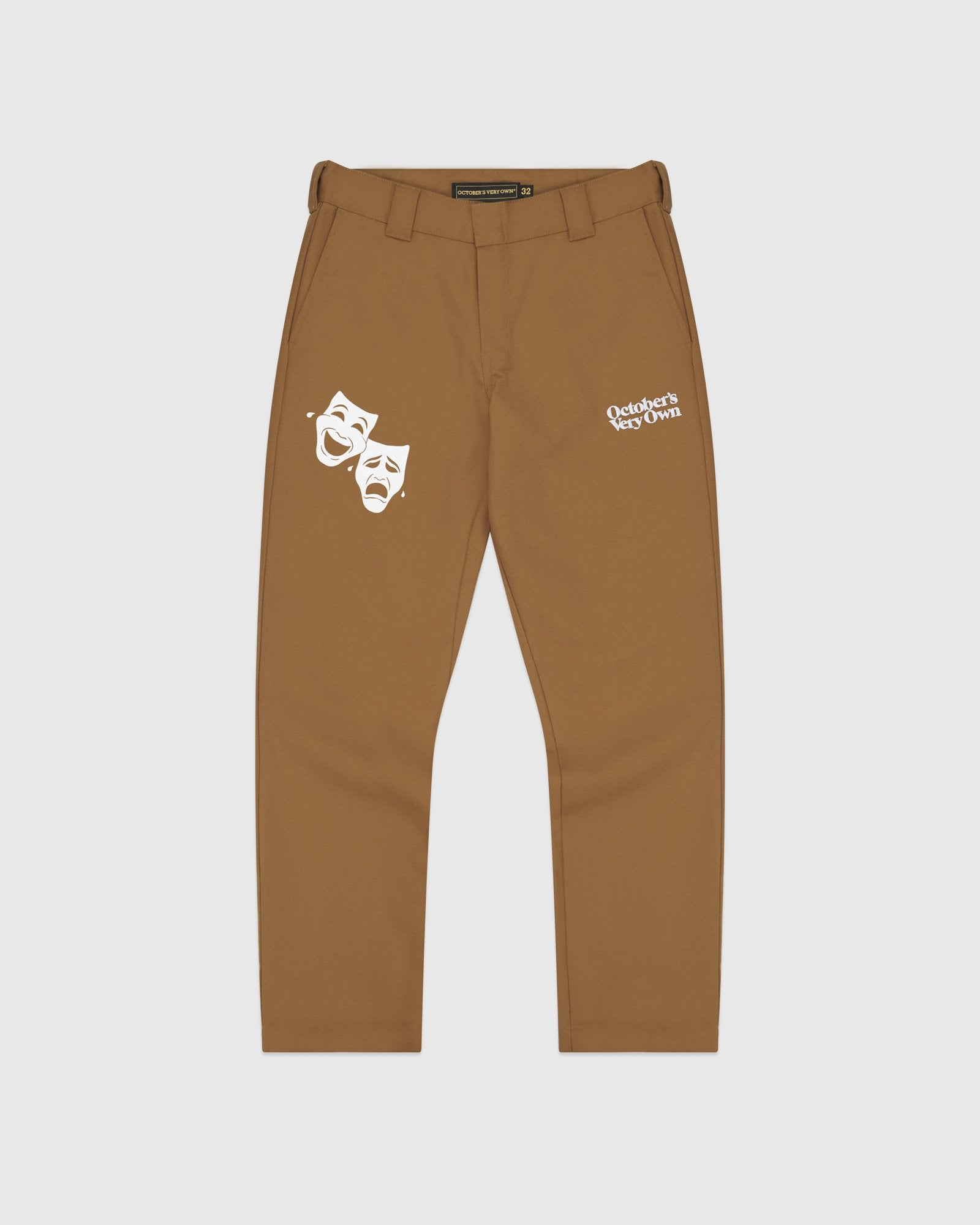 OCTOBER CANVAS PANT - BROWN IMAGE #1