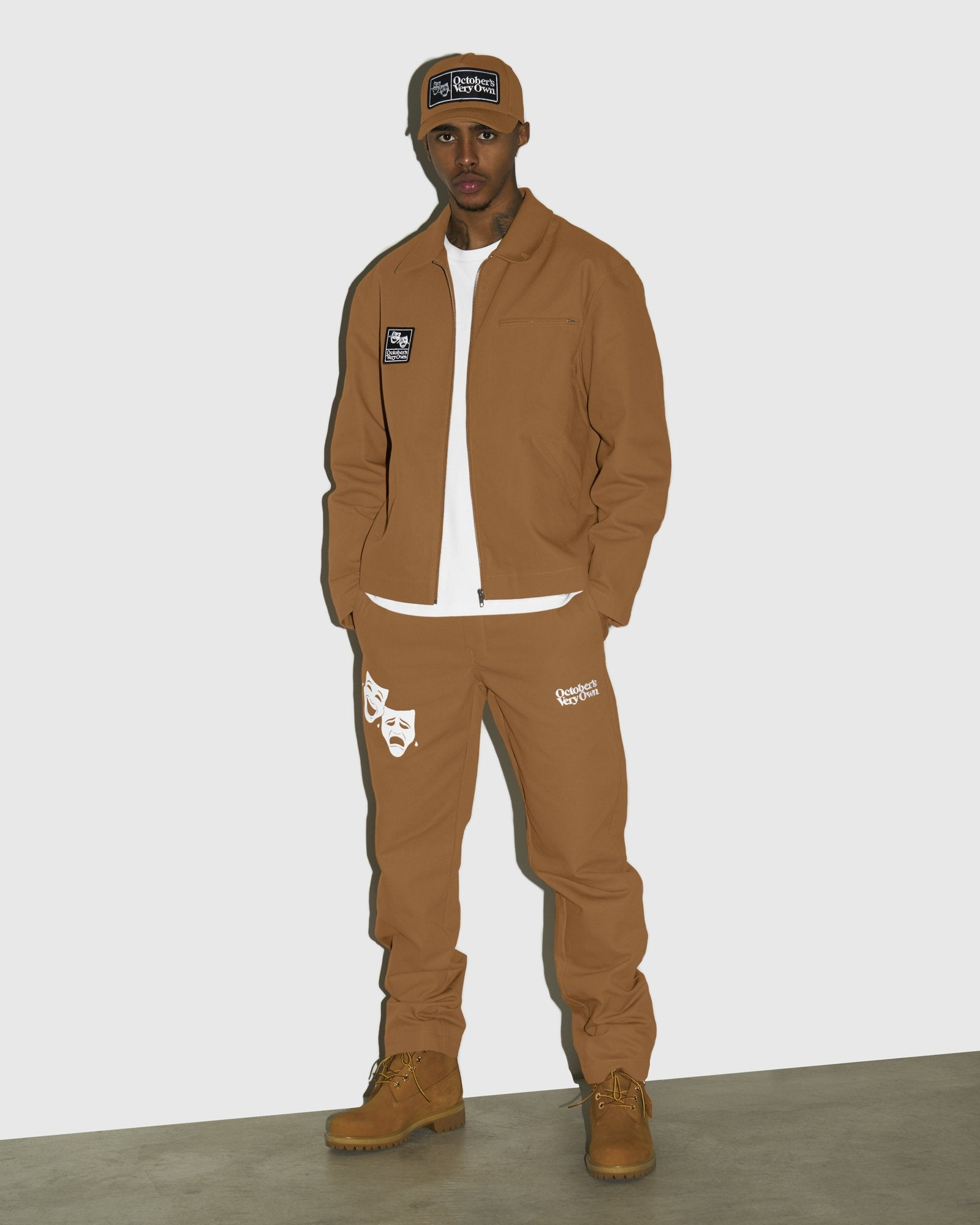 OCTOBER CANVAS PANT - BROWN IMAGE #2