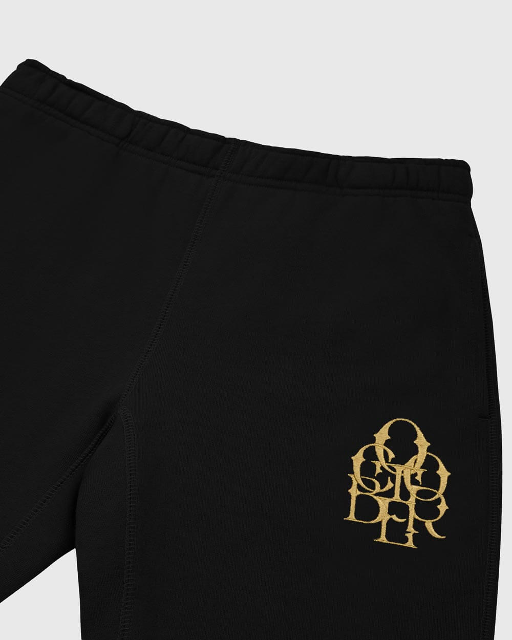 OCTOBER LETTERLOCK SWEATPANT - BLACK