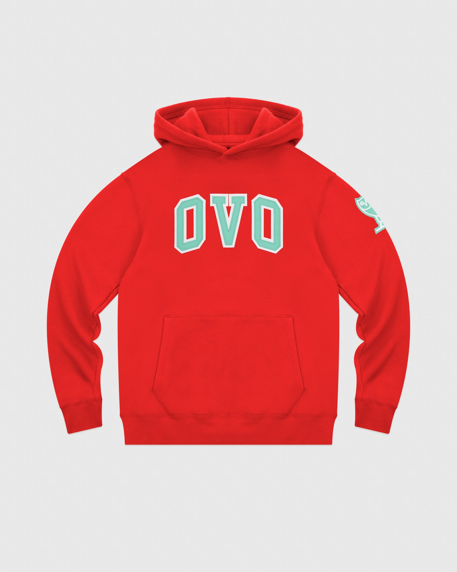 ARCH HOODIE - RED IMAGE #1