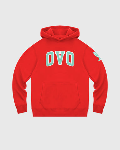 ARCH HOODIE - RED