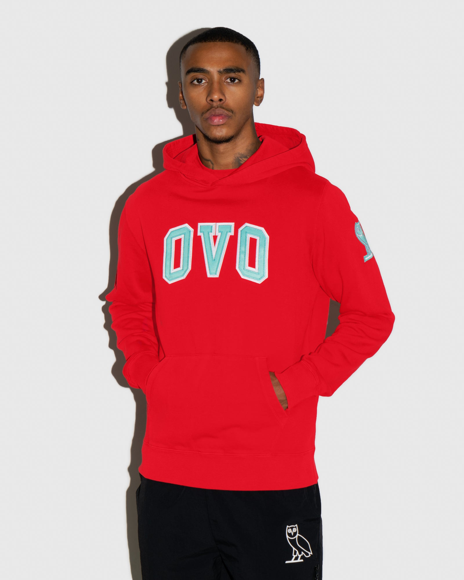 ARCH HOODIE - RED IMAGE #2