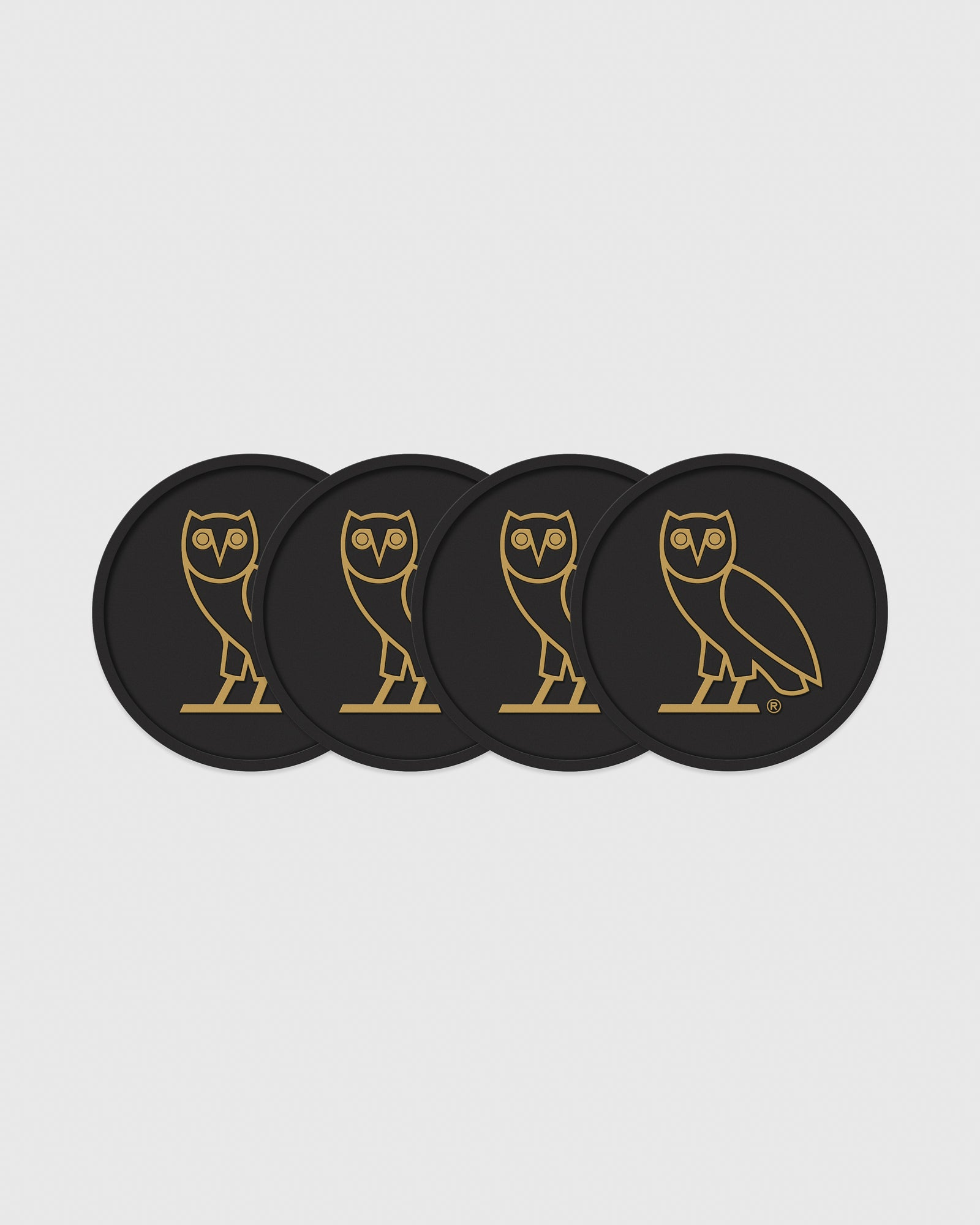 OVO COASTER SET - BLACK IMAGE #2