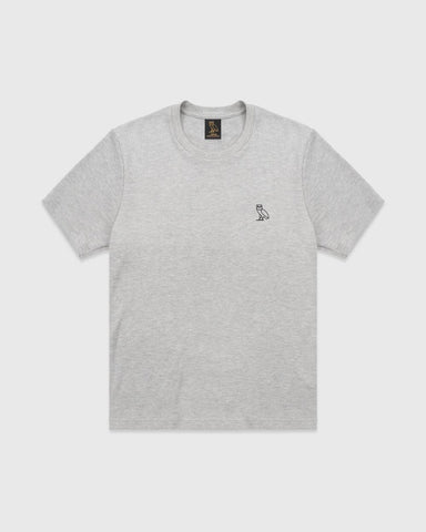 OVO ESSENTIALS T-SHIRT - HEATHER GREY