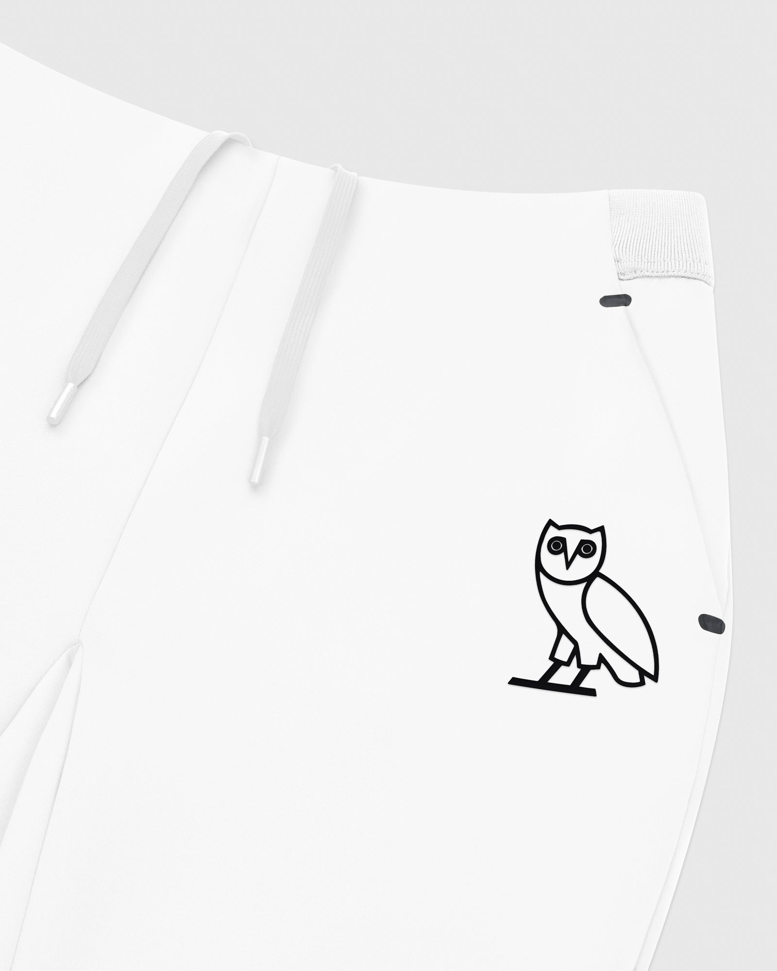 OVO DOUBLE KNIT PANT - WHITE IMAGE #3