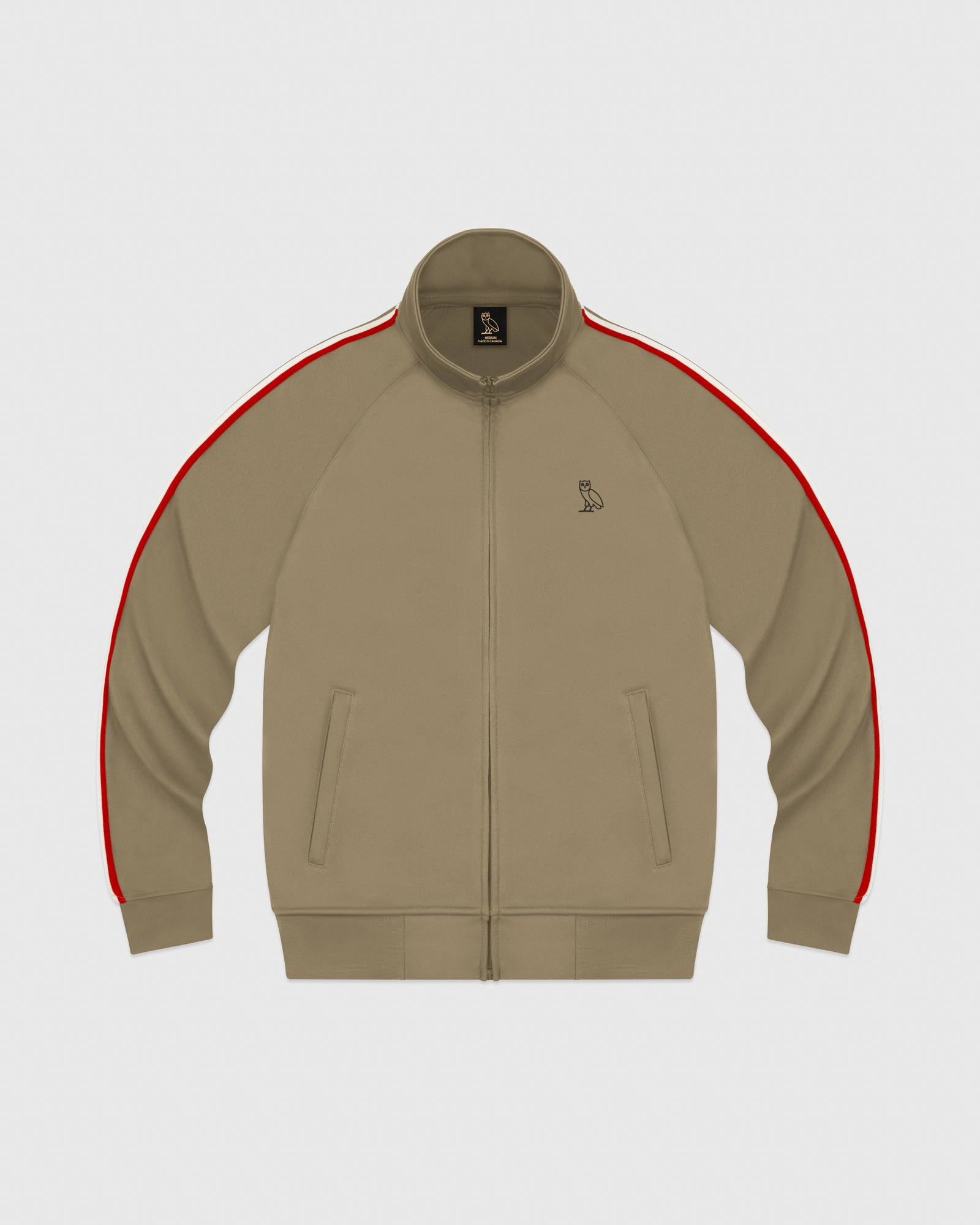 92f9cb8b8821 OVO PIQUE JACKET - KHAKI – October s Very Own Online US