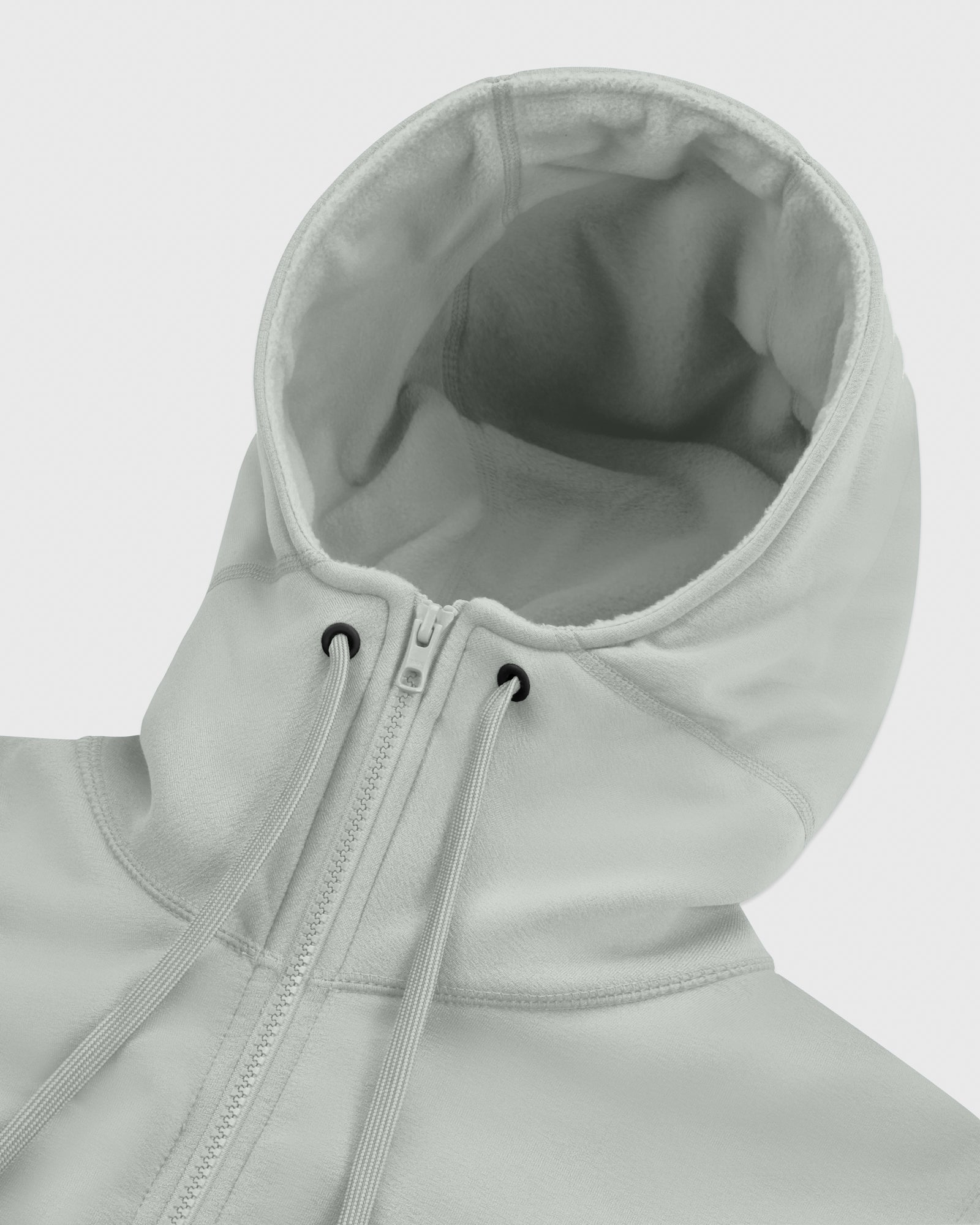 OVO POLARTEC® POWER STRETCH ANORAK HOODIE - CONCRETE GREY