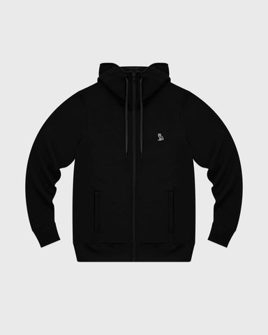 OVO POLARTEC® POWER STRETCH ZIP HOODIE - BLACK