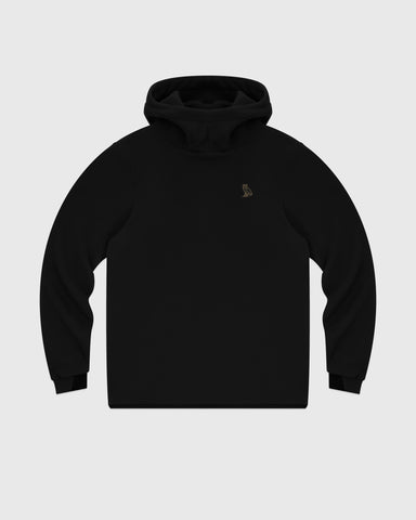 OVO PRIMALOFT® PERFORMANCE FLEECE HOODIE - BLACK