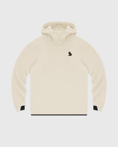 OVO PRIMALOFT® PERFORMANCE FLEECE HOODIE - CREAM